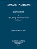 Concerto En Sol Majeur Tomaso Albinoni Partition laflutedepan.com