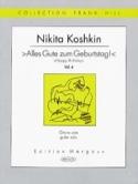 Happy Birthday vol 4 Nikita Koshkin Partition laflutedepan.com