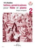 10 Etudes Latino-Américaines Volume 2 laflutedepan.com