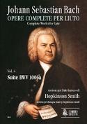Suite BWV 1006a - Johann Sebastian Bach - Partition - laflutedepan.com