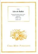 Airs de ballets - 2 Basses de viole Partition laflutedepan.com