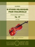 10 Etudes Mélodiques Op.57 Friedrich-August Kummer laflutedepan.com