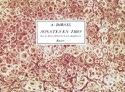 Sonates En Trio Oeuvre 3ème Louis-Antoine Dornel laflutedepan.com