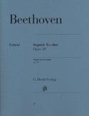 Septuor en Mi bémol majeur op. 20 BEETHOVEN Partition laflutedepan.com