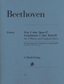 Trio en Ut majeur op. 87 · Variations en Ut majeur WoO 28 laflutedepan.com