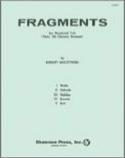 Fragments Robert Muczynski Partition Trios - laflutedepan.com