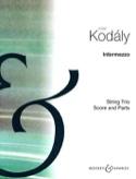 Intermezzo Zoltan Kodaly Partition Trios - laflutedepan.com