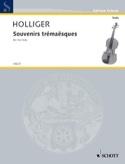 Souvenirs Trémaësques Heinz Holliger Partition Alto - laflutedepan.com