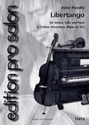 Libertango - Astor Piazzolla - Partition - Trios - laflutedepan.com