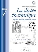 La Dictée en Musique Volume 7 laflutedepan.com
