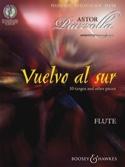 Vuelvo al Sur - Flute Astor Piazzolla Partition laflutedepan.com