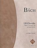 120 Chorales Volume 1 BACH Partition Guitare - laflutedepan.com