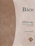 120 Chorales - 4 Guitares Vol 3 BACH Partition laflutedepan.com