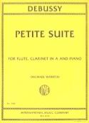 Petite Suite - Claude Debussy - Partition - Trios - laflutedepan.com