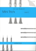 Mini Trio's Deel 2 - 3 Vents Partition Trios - laflutedepan.com