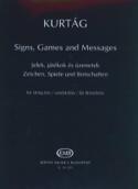 Signs, Games And Messages György Kurtag Partition laflutedepan.com