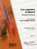 Les Copains D'abord Georges Brassens Partition laflutedepan.com