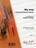 My Way Comme D'habitude Revaux J. / Claude François laflutedepan.com