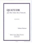 Quatuor -Flûte, violon, alto et violoncelle - Parties + cond. laflutedepan.com
