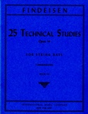 25 Technical Studies Op.14 Vol.3 Théodor Findesein laflutedepan.com