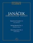 Quatuor à Cordes N° 2 Lettres Intimes Leos Janacek laflutedepan.com