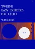 12 Easy Exercises Op.18 William Henry Squire laflutedepan.com