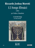 12 Jewishs Songs 2006 Riccardo Joshua Moretti laflutedepan.com