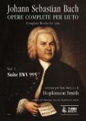 Suite BWV 995 - Johann Sebastian Bach - Partition - laflutedepan.com