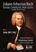 Suite BWV 996 - Johann Sebastian Bach - Partition - laflutedepan.com