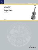 Fuga Libre - Garth Knox - Partition - Alto - laflutedepan.com