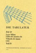 Libro de Musica de Vihuela de Mano (1535) - Livre 20 - Vol.IV - laflutedepan.com