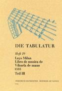Libro de Musica de Vihuela de Mano (1535) - Livre 19 - Vol.III - laflutedepan.com