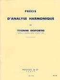 Précis d'analyse harmonique Yvonne Desportes laflutedepan.com