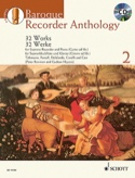 Baroque Recorder Anthology Volume 2 Partition laflutedepan.com