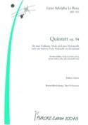 Quintette Op.54 Beau Louise Adolpha Le Partition laflutedepan.com