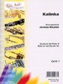 Kalinka - Arrgt 4 Flûtes Jérôme Naulais Partition laflutedepan.com