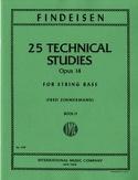 25 Technical Studies Op. 14 Vol 2 Findeisen laflutedepan.com