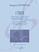 3 Trios - 1ère Suite en Sol Majeur François Devienne laflutedepan.com