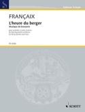 L'heure Du Berger Jean Françaix Partition Sextuors - laflutedepan.com