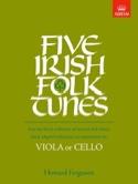 5 Irish Folk-Tunes Howard Ferguson Partition Alto - laflutedepan.com
