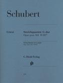 Quatuor A Cordes en Sol Majeur Op. Post. 161 D 887 laflutedepan.com