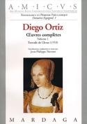 Trattado de Glosas 1553 Diego Ortiz Partition laflutedepan.com
