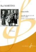 Labyrinthe Rui Martins Partition Quatuors - laflutedepan.com
