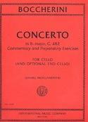 Concerto Sib Maj. - G. 482 BOCCHERINI Partition laflutedepan.com