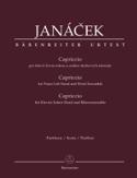 Capriccio - Leos Janacek - Partition - Sextuors - laflutedepan.com