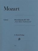 Divertimento Une Petite Musique de nuit K. 525 MOZART laflutedepan.com