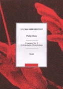 String Quartet N° 2 Company - Score - Philip Glass - laflutedepan.com
