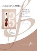 7 Ricercari & 1 Canon A Due - Domenico Gabrielli - laflutedepan.com