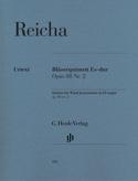Quintette à Vent op. 88 n° 2 en Mib Maj. Anton Reicha laflutedepan.com