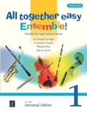All Together Easy Ensemble! Volume 1 - James Rae - laflutedepan.com